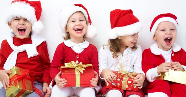 Goûter de Noël pour les enfants